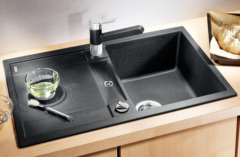 Преимущества каменной кухонной мойки