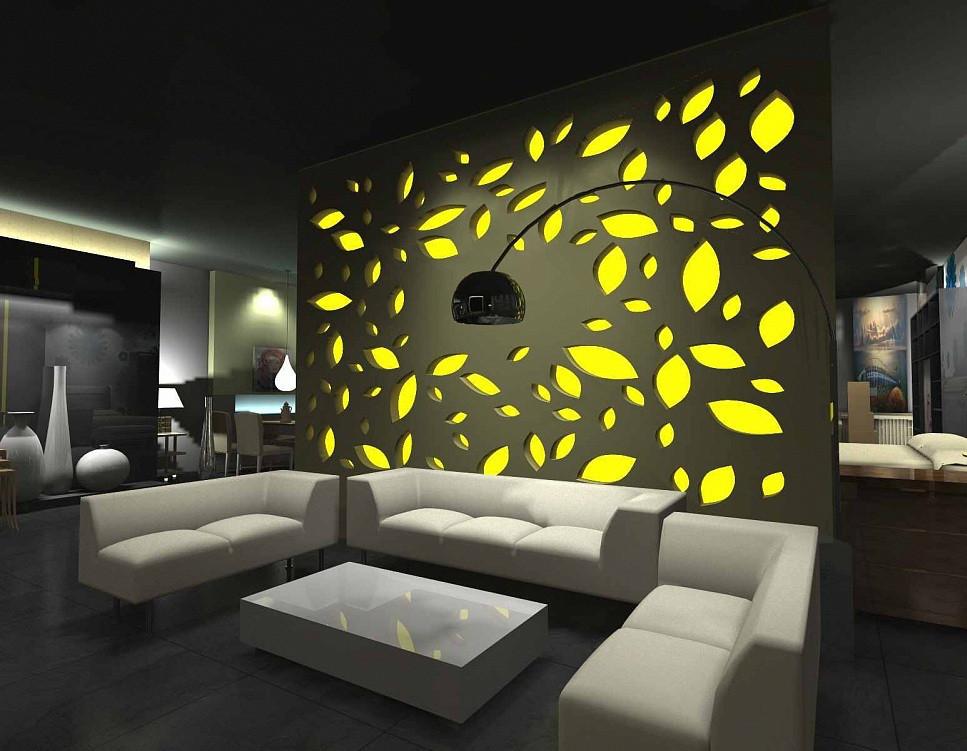 Украшение интерьера с помощью эксклюзивных световых решений