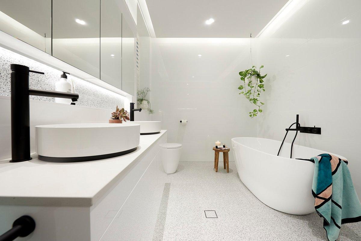 Эстетический дизайн ванной комнаты